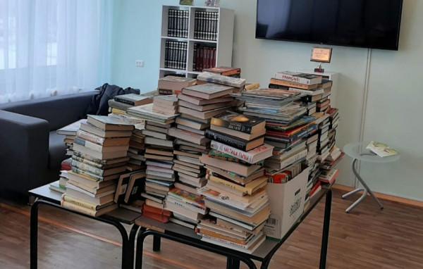 Книги – в дар!