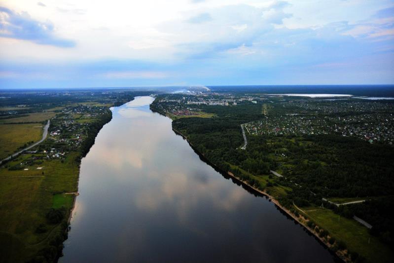 Фотографии реки Волхов